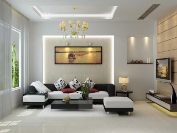 Thiết kế nội thất đơn giản sang trọng