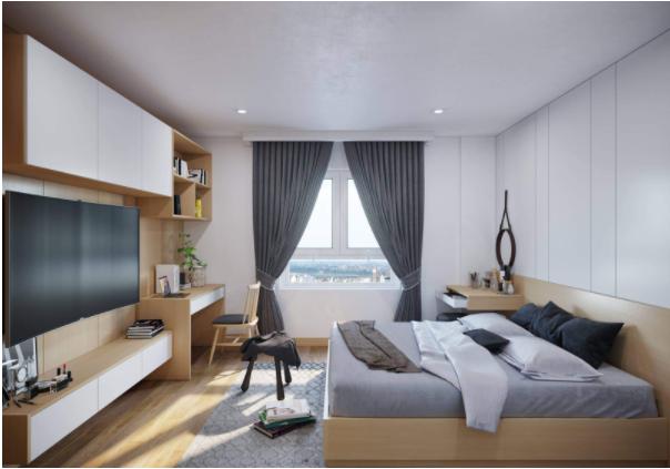 Những căn nội thất phòng ngủ đẹp, hiện đại