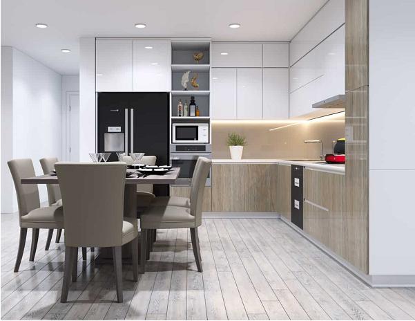 Nội thất phòng bếp và những nguyên tắc thiết kế quan trọng
