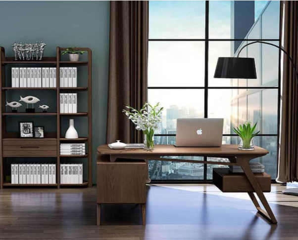 Sắp xếp không gian làm việc hợp lí tạo ra không gian thoải mái cho phòng làm việc