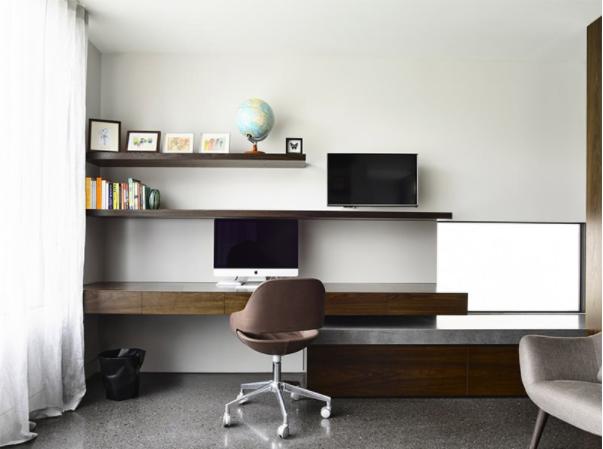 Thiết kế bài trí văn phòng hiện đại, lịch sự