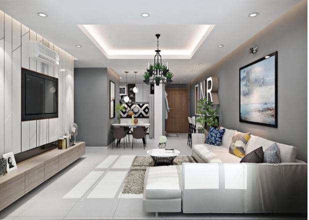 Thiết kế nội thất phòng khách phù hợp cho ngôi nhà mơ ước