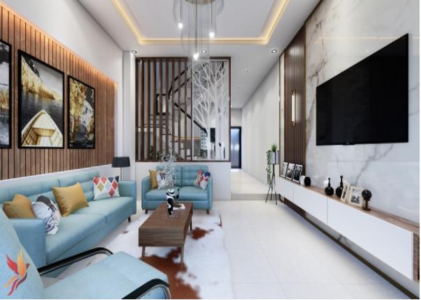 Thiết kế nội thất theo phong cách hiện đại, trẻ trung