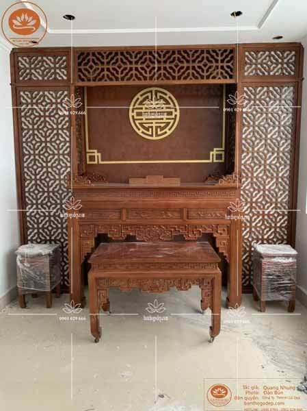 Mẫu bàn thờ đẹp đẳng cấp BT38