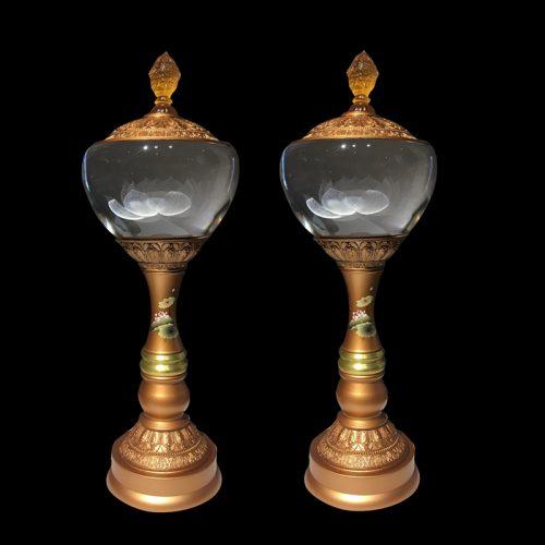 Đèn thờ hoa sen cao cấp – Địa chỉ uy tín sắm đèn chất lượng