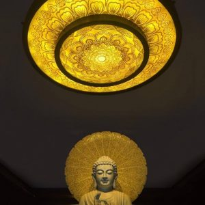 MẪU TRANH TRÚC CHỈ TC34 – Tranh trúc chỉ thờ Phật
