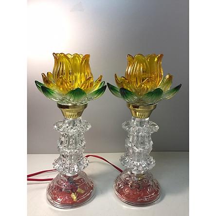 Lưu ý khi dùng đèn thờ hoa sen trang trí tại gia chuẩn phong thủy