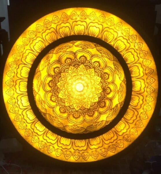Tranh Giấy Dừa ( Mandala ) TD02