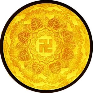 Tranh Giấy Dừa ( Mandala ) TD03 – Tranh Phong Thủy Treo Thờ