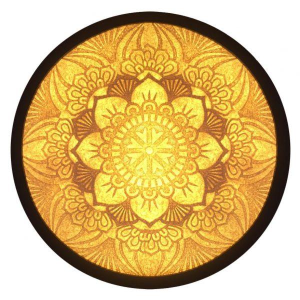 Tranh Giấy Dừa ( Mandala ) TD04