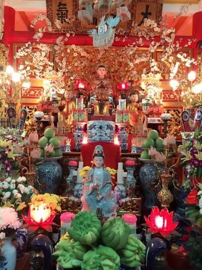 Đền thờ của cô được đặt ở tỉnh Thanh Hóa