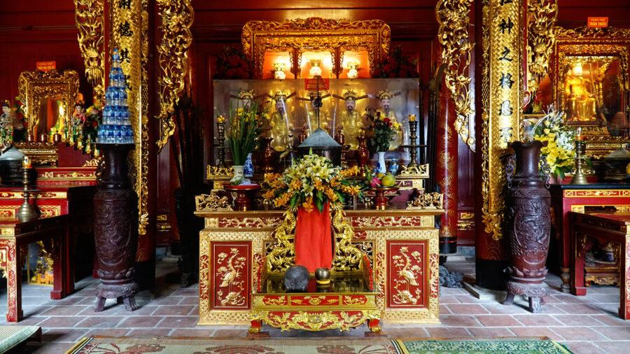 Đền của ông tọa lạc tại địa chỉ tại xã Hưng Thịnh, huyện Hưng Nguyên, Tỉnh Nghệ An