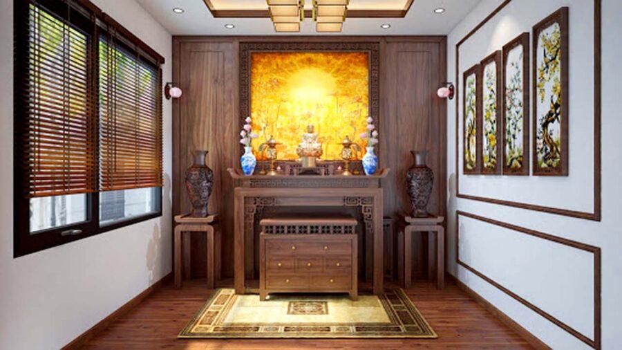 Đèn thờ trang trí cho không gian thờ cúng