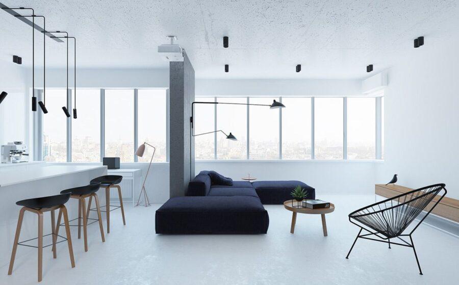 Chọn phong cách tối giản là bước đầu tiên để tạo ra một không gian thư giãn.