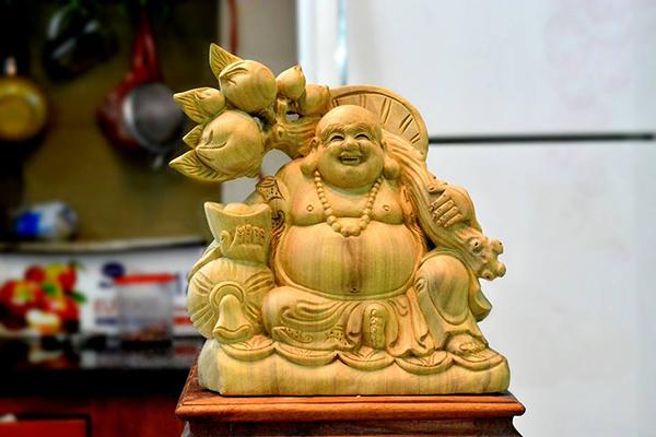 Tượng Phật giúp thu hút may mắn, tài lộc