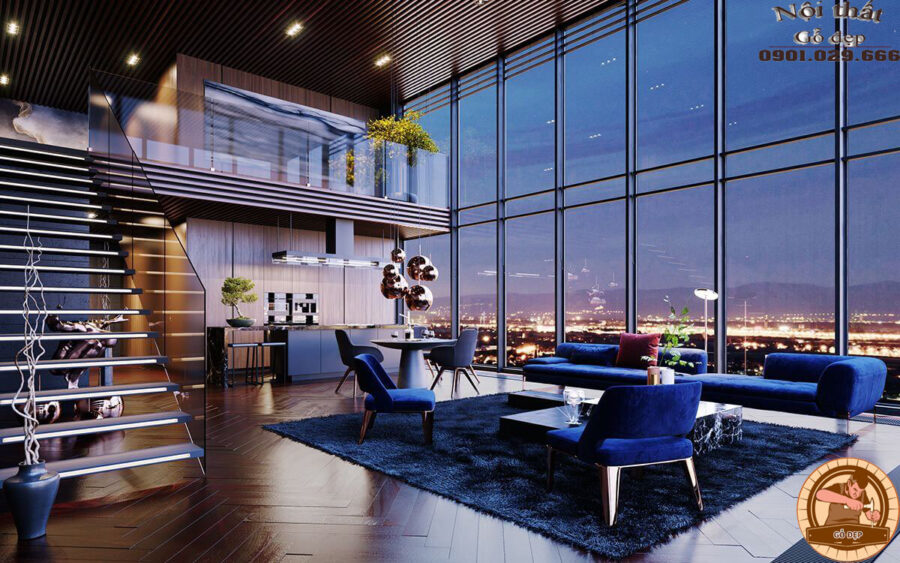 Penthouse là tên gọi của một loại hình căn hộ chung cư cao cấp