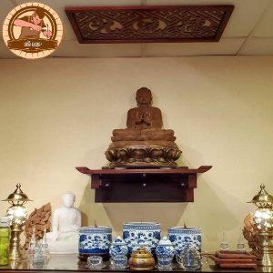 Bàn Thờ Phật Treo Tường Cao Cấp – TT 523