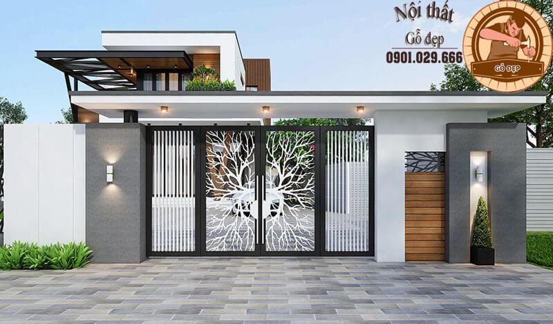 Những lưu ý trong thiết kế khi làm cổng nhà