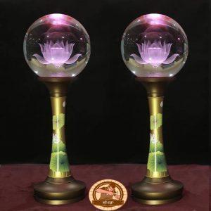 Đèn thờ pha lê cao cấp ĐT06