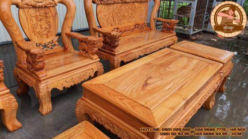 Ghế đơn gỗ gõ đỏ đẹp mắt